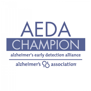 <h5>AEDA Champion Member</h5><p>2nd Family is a member of the Alzheimer's Association Early Detection Alliance</p>